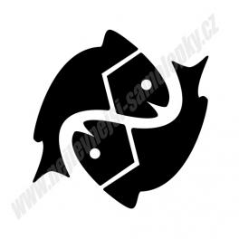 Samolepka Ryby