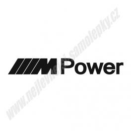 Samolepka M Power
