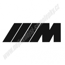 Samolepka M power logo