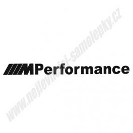 Samolepka M Performance