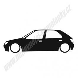 Samolepka Peugeot 306 Low