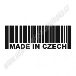 Samolepka Made in Czech