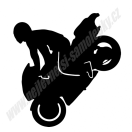 Samolepka Moto Stunt (kaskadér)