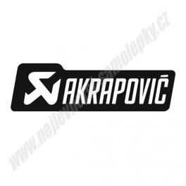 Samolepka Akrapovic II