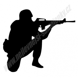 Samolepka Voják
