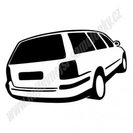Samolepka VW Passat Variant B5 / B5.5