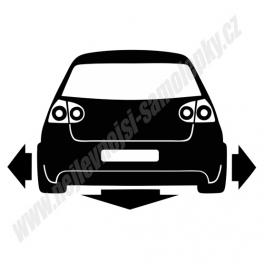 Samolepka VW Golf V Low