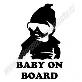 Samolepka Cool Baby on board