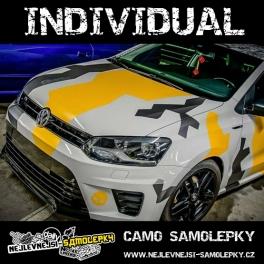 Camo samolepky INDIVIDUAL!