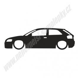 Samolepka Audi A3 / S3 low