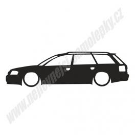 Samolepka Audi A6 / RS6 low