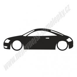 Samolepka Audi TT low