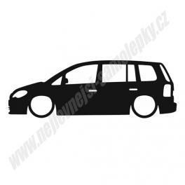 Samolepka VW Touran low
