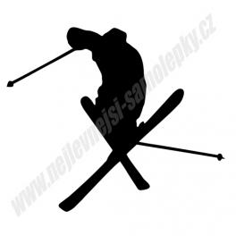 Samolepka Freestyle lyžování