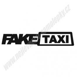 Samolepka Fake Taxi