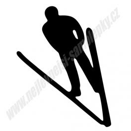 Samolepka Skokan na lyžích