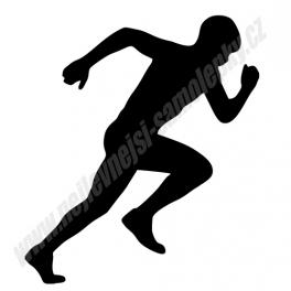 Samolepka Běžec
