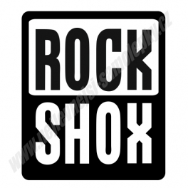 Samolepka Rock SHOX