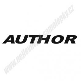 Samolepka Author
