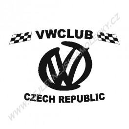 Samolepka VW Official fórum logo