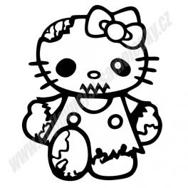 Samolepka Hello Kitty Zombie