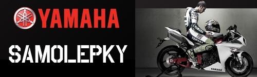 Yamaha samolepky