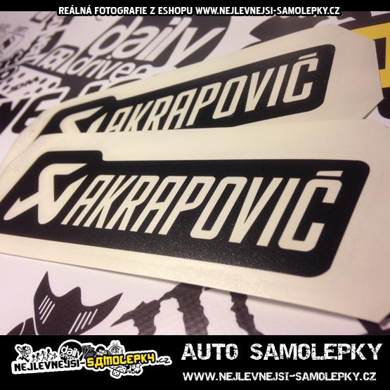 Samolepka Akrapovic