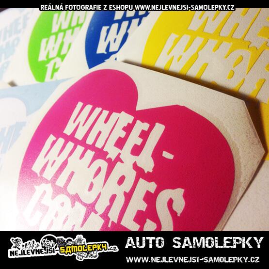 Auto samolepka wheel-whores